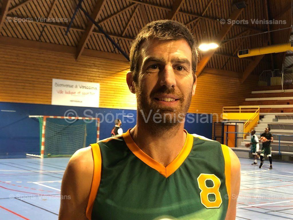 Pierre Ruol, nouvel entraîneur-joueur de l'ALVP Basket (R1M)