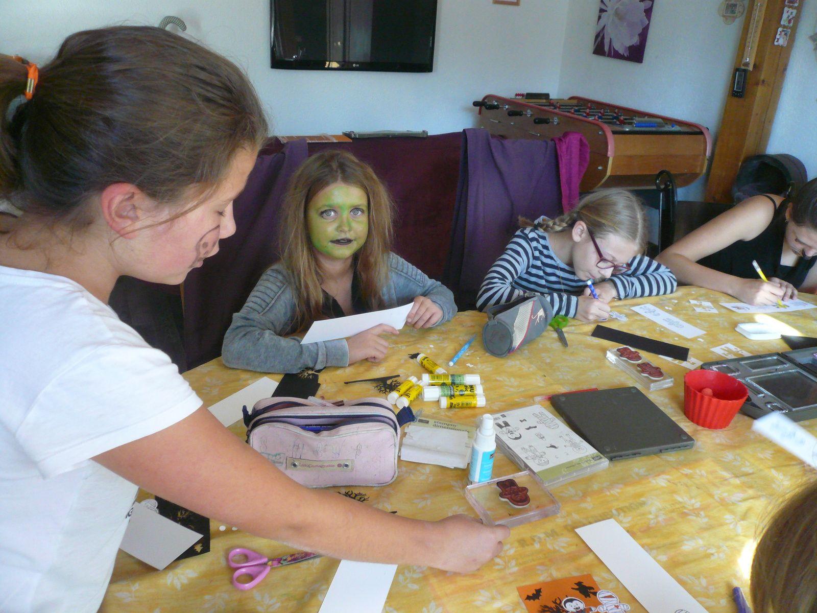 Atelier scrap Enfant : Halloween