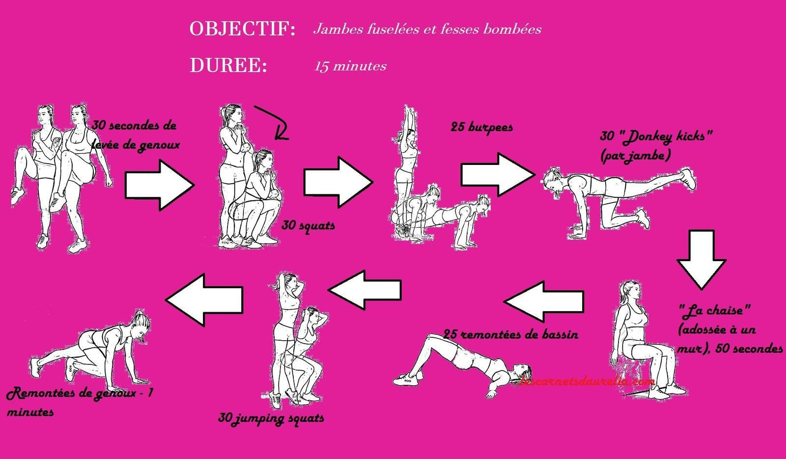 exercices pour jambes et fesses mon grimoire. Black Bedroom Furniture Sets. Home Design Ideas