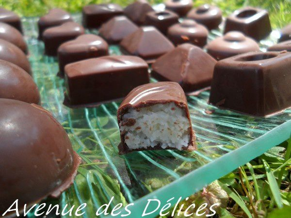 Bounty maison (thermomix)