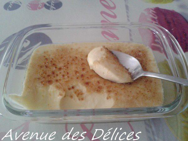 Crème brûlée (thermomix)
