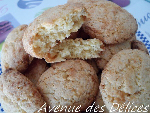Cookies chocolat blanc-noix de coco