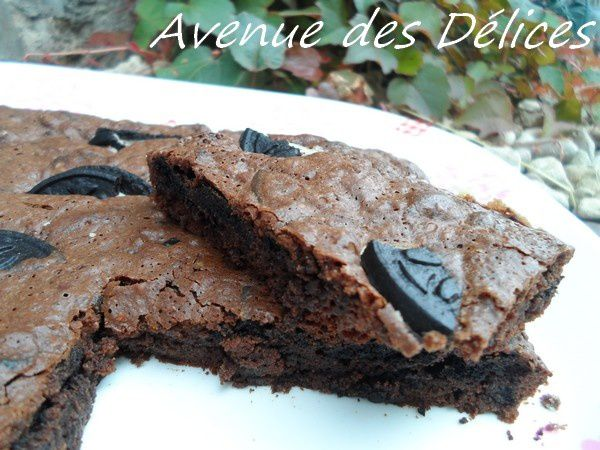 Brownies aux Oréo
