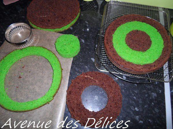 Le gâteau damier