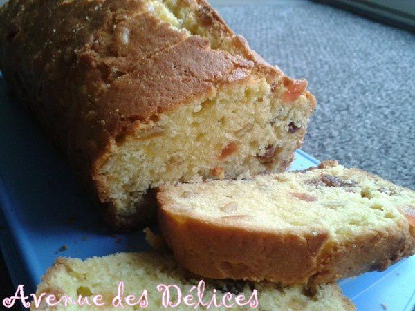 Le véritable cake Anglais (fruits confits)