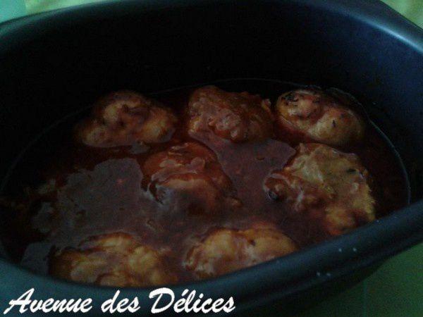 Paupiettes à la sauce tomates