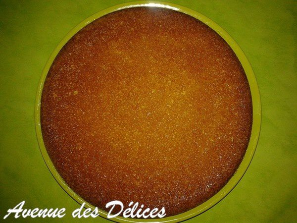 Gateau a l'orange top chef