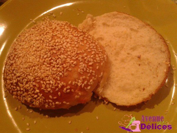 Pain à hamburgers (thermomix)