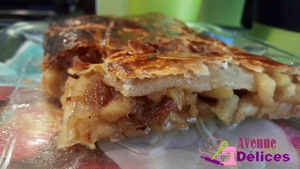 Apfelstrudel (gâteau aux pommes)