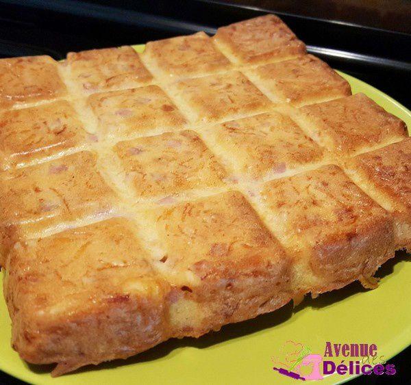 Cake jambon-emmental