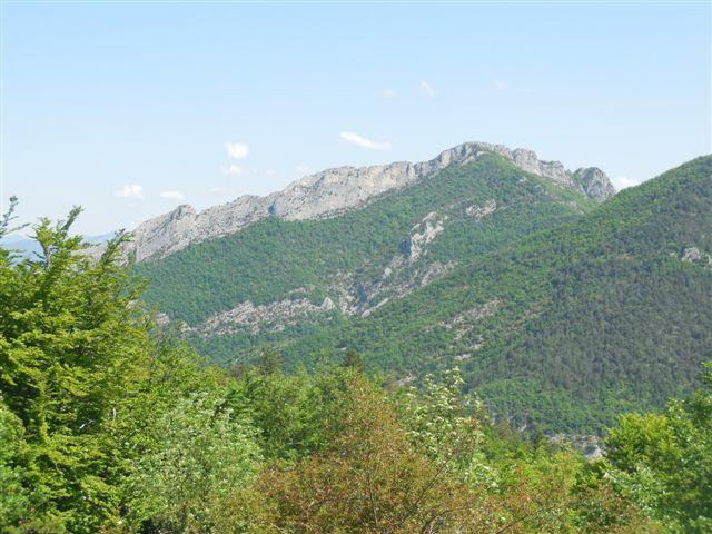 Les rochers de Cresta.