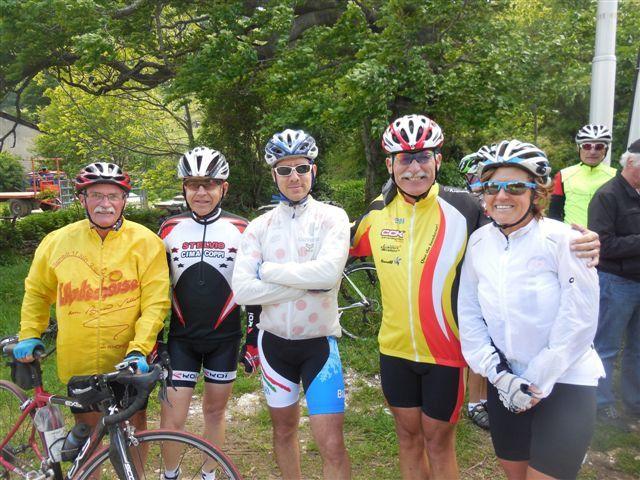 Le 31 mai à Léoncel Rencontre avec les cyclos alsaciens du CCK