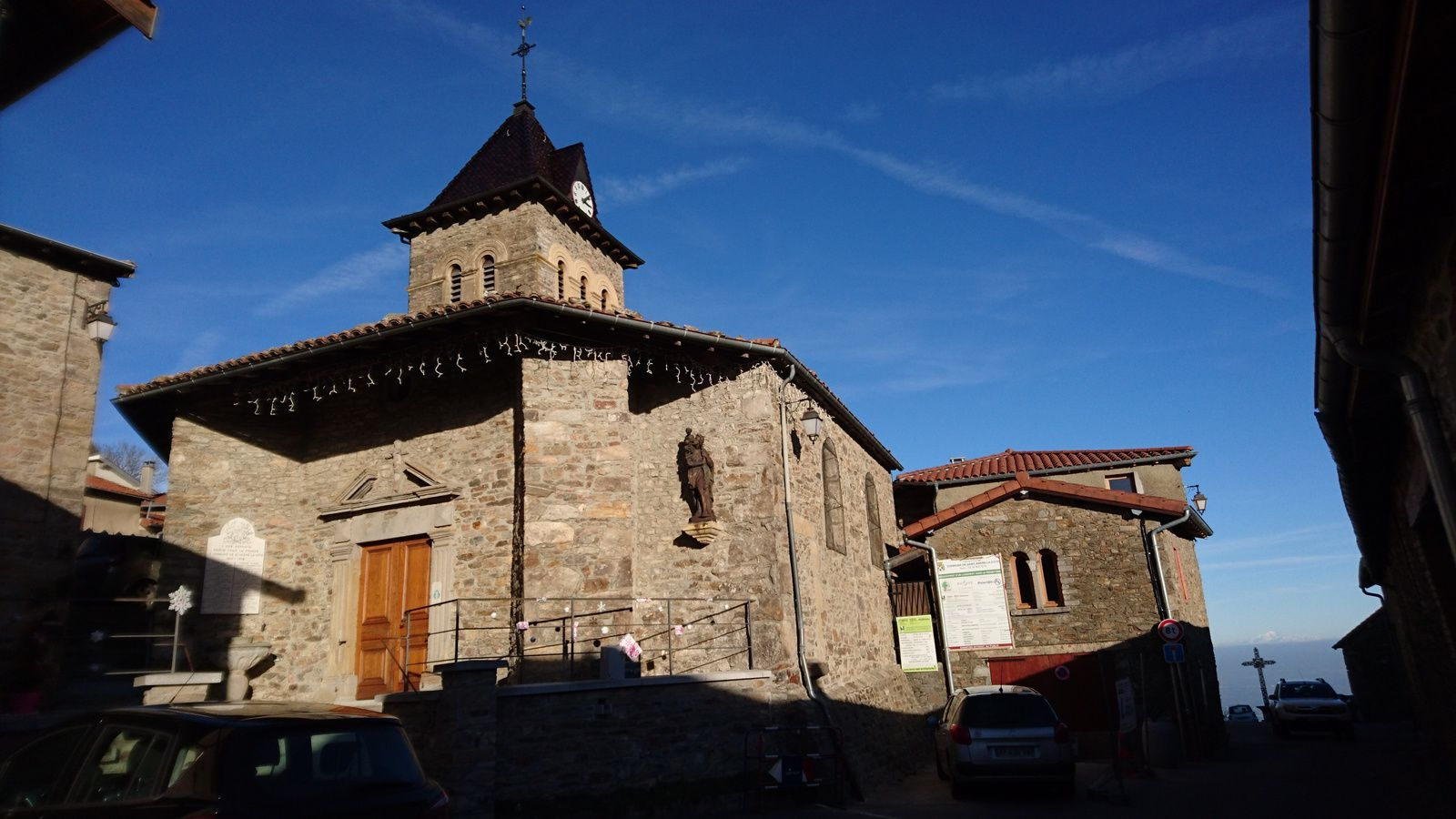 VELO : Saint André la Côte, directissime.