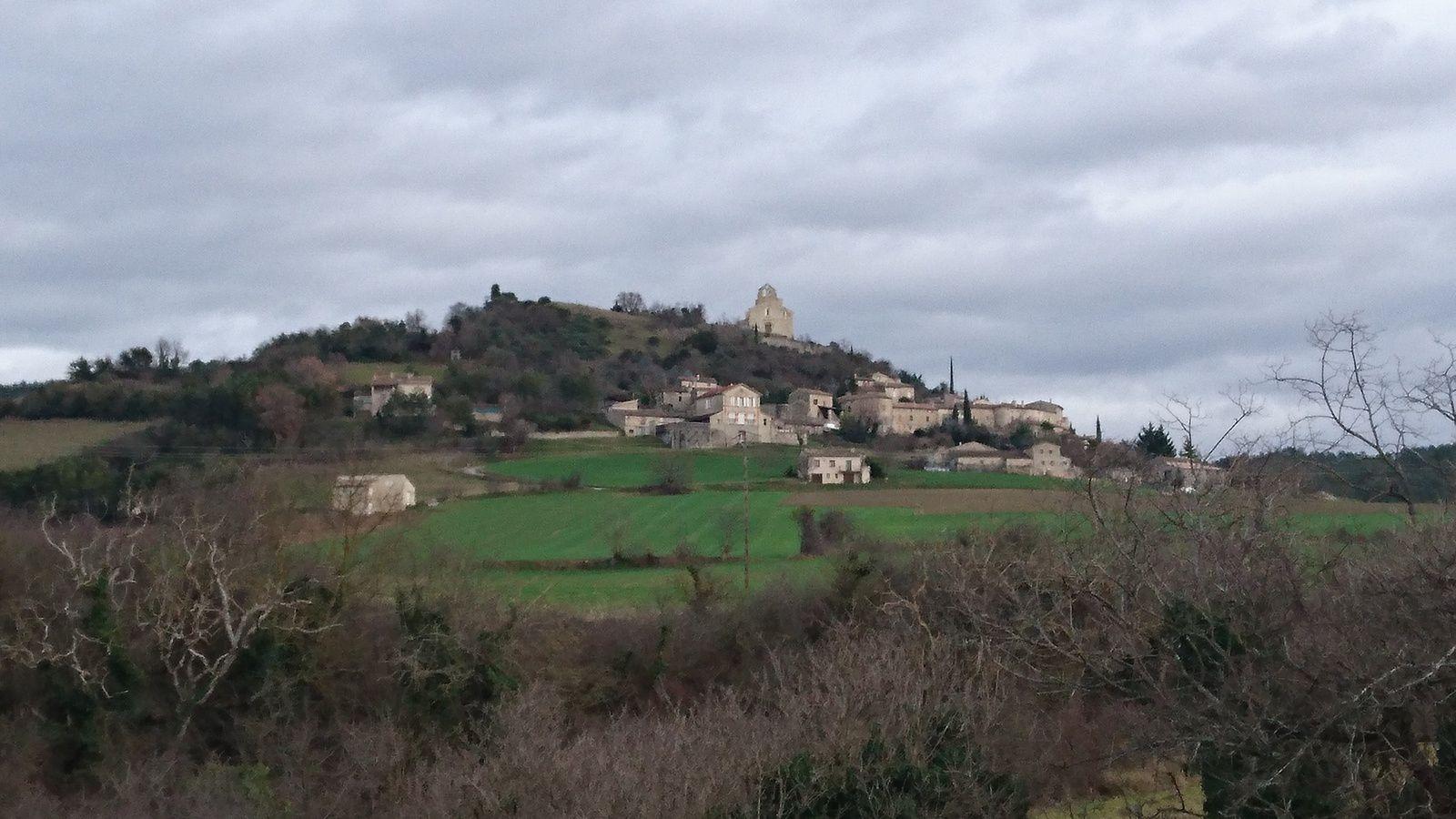 Montclar sur Gervanne, et son église perchée