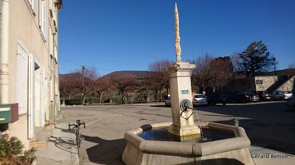 Fontaine de Beaufort sur Gervanne.