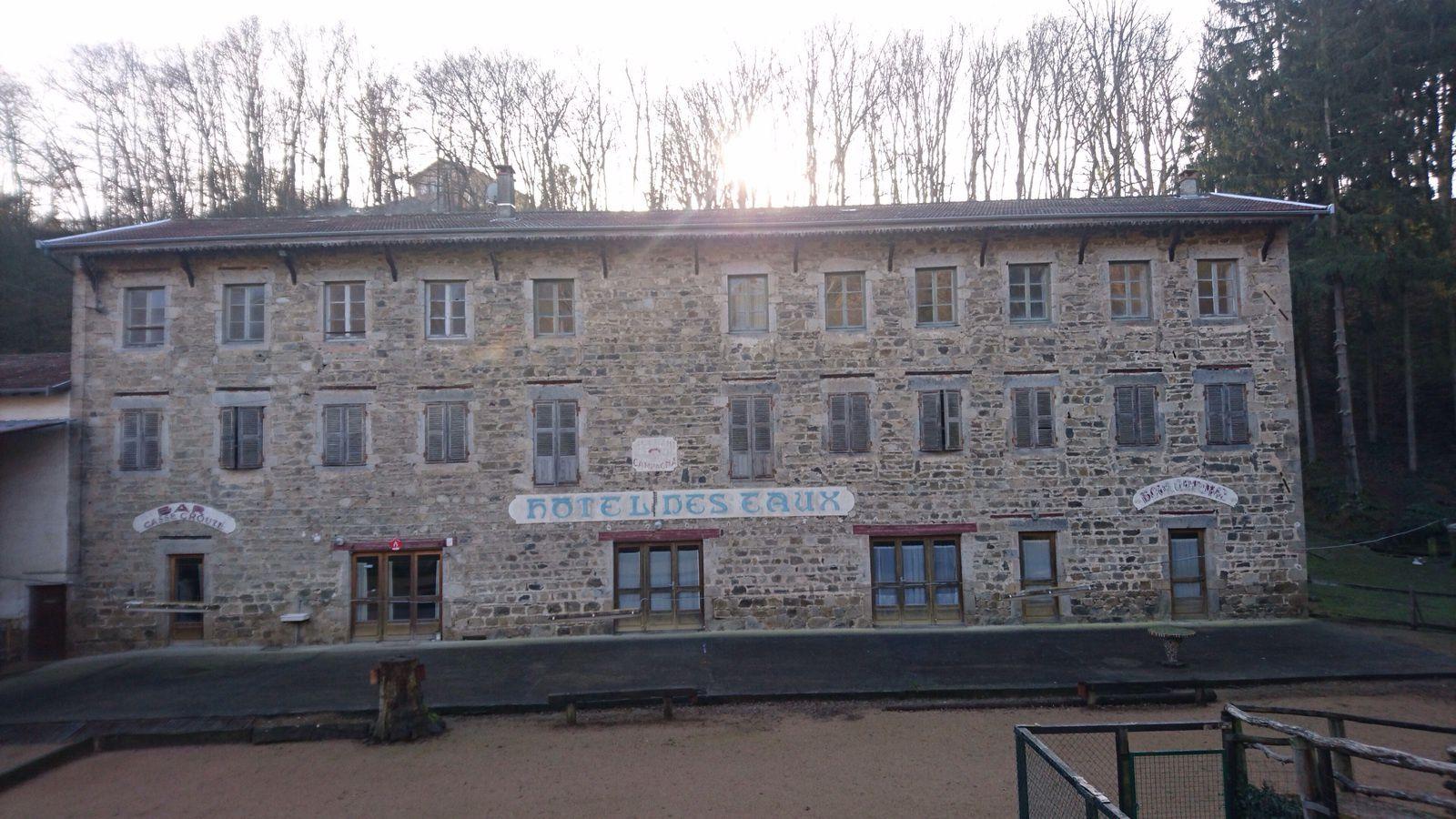 L'ancien Hotel des Eaux à Orlienas.