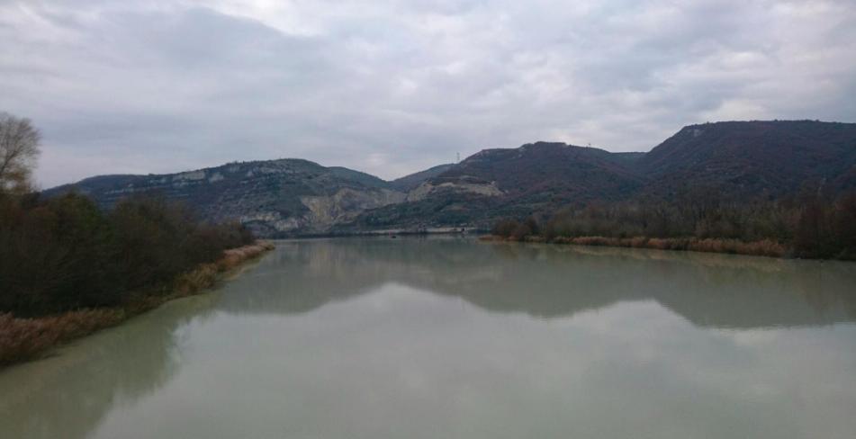 La confluence Drôme Rhône