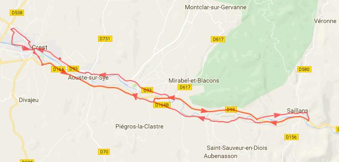 Val de Drôme, entre Crest et Saillans