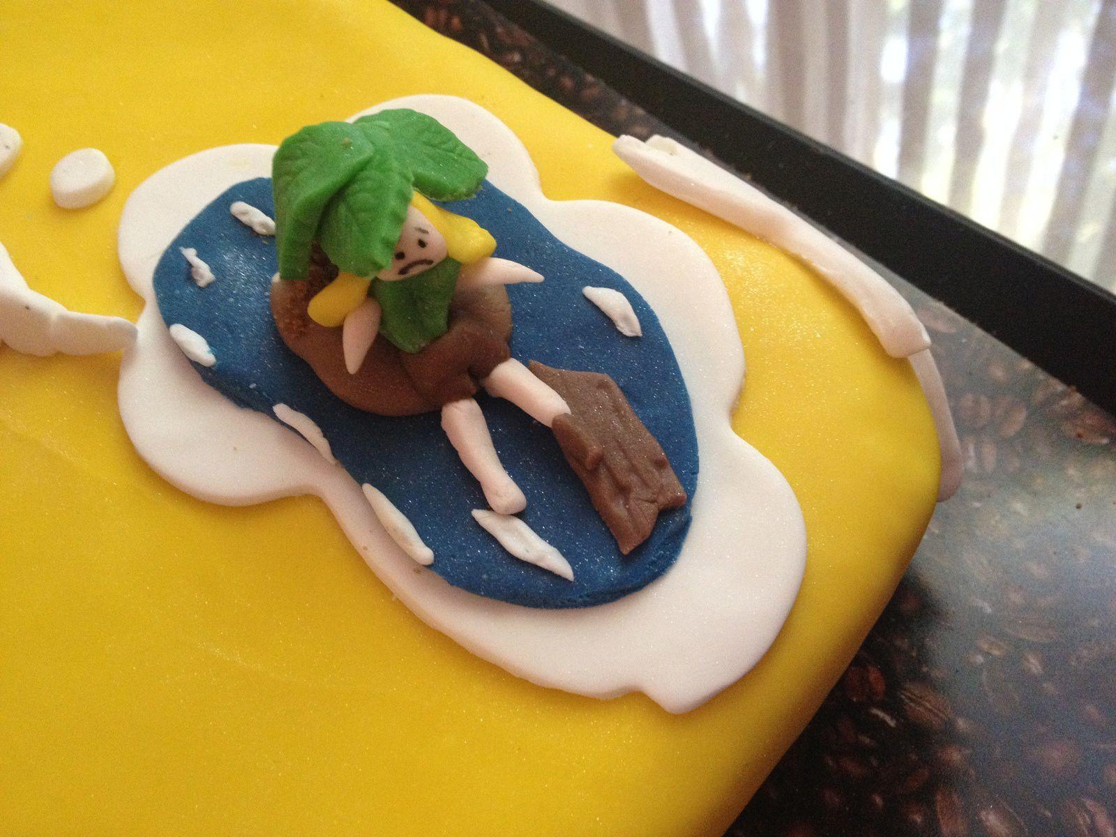 Mes derniers gâteaux décor pâte à sucre