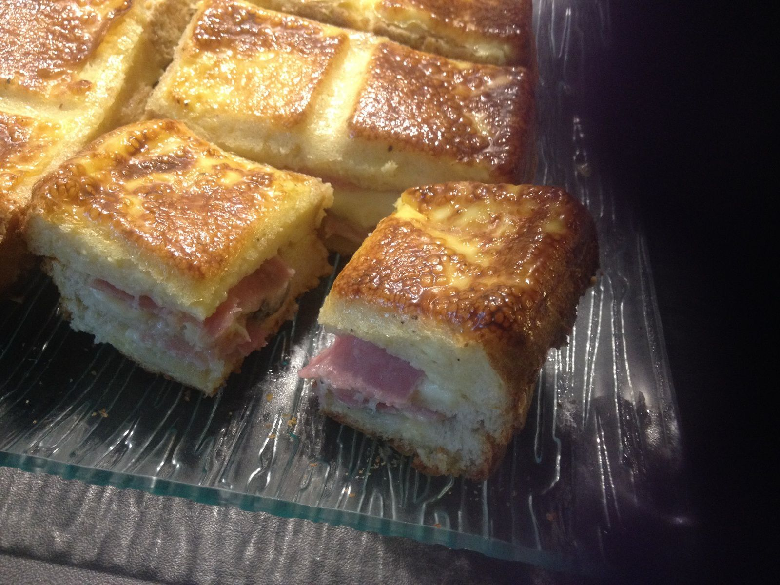 Croque tablette au roquefort