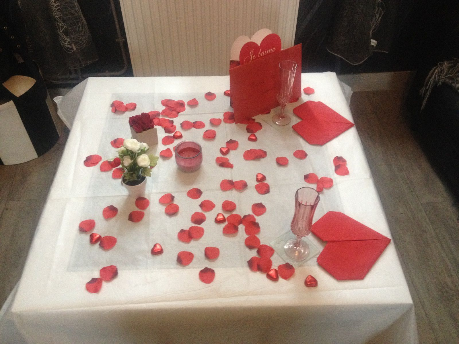Table Saint Valentin 2016