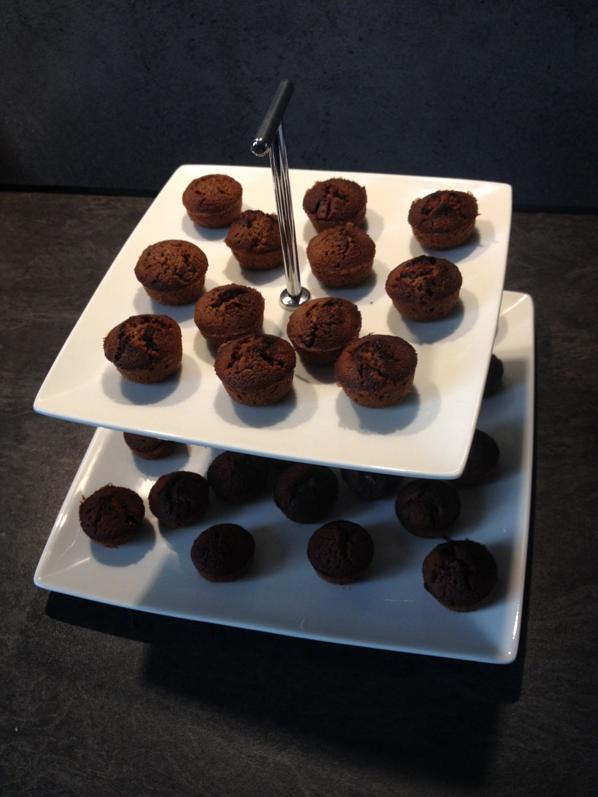 Petits fours moelleux choco caramel