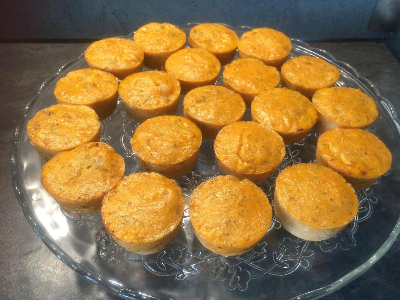 Muffins au thon et à la tomate