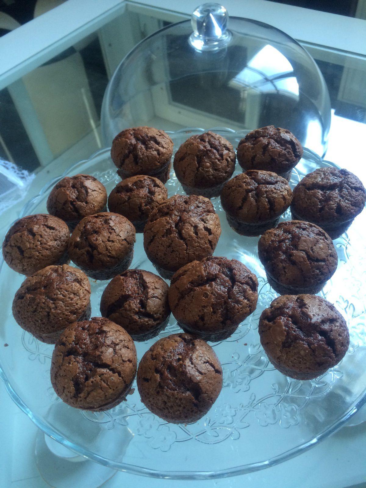 Muffins au chocolat de Cyril Lignac
