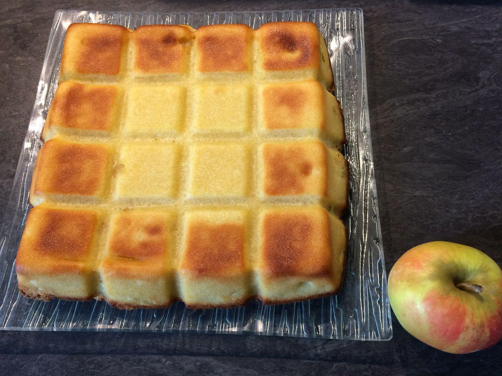 Gâteau aux pommes crumbellisé