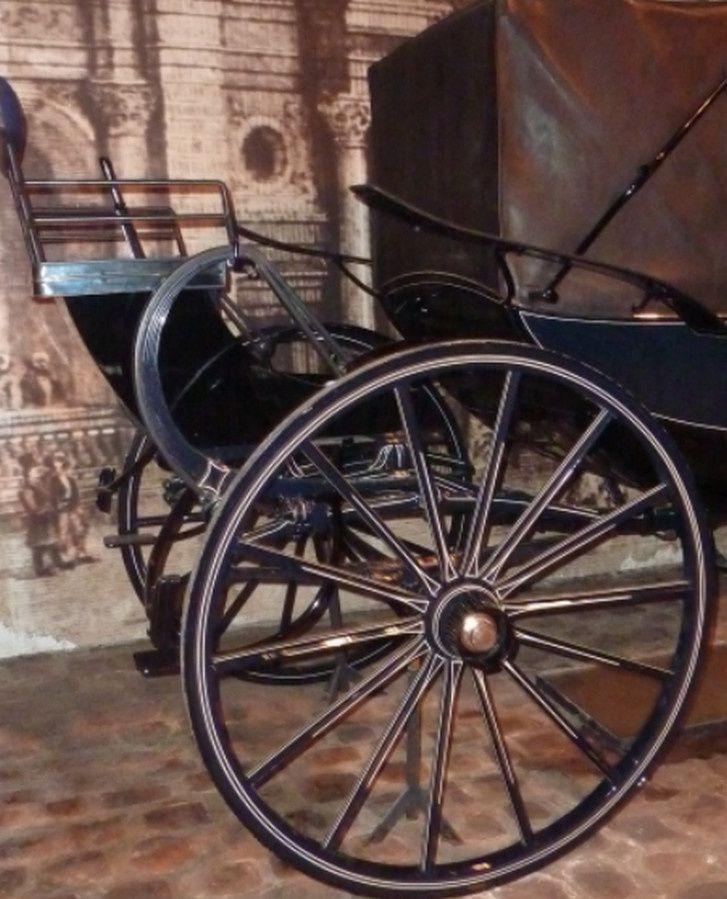 Landau du carrossier Hooper à Londres (Vaux le Vicomte)