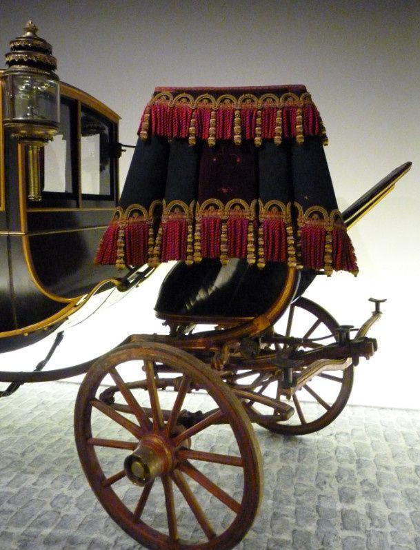 Coupé à huit ressorts du carrossier Ehrler en 1880 (Chateau de Versailles)