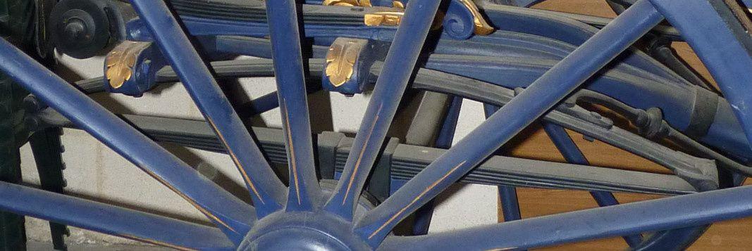 Double suspension, dite à huit ressorts