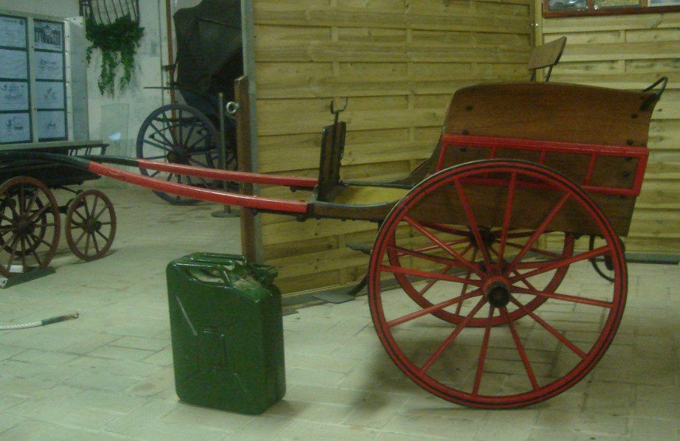 Break wagonnette et charrette anglaise
