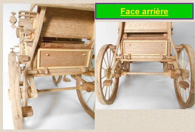 Maquette Break grand modèle du haras de Cluny