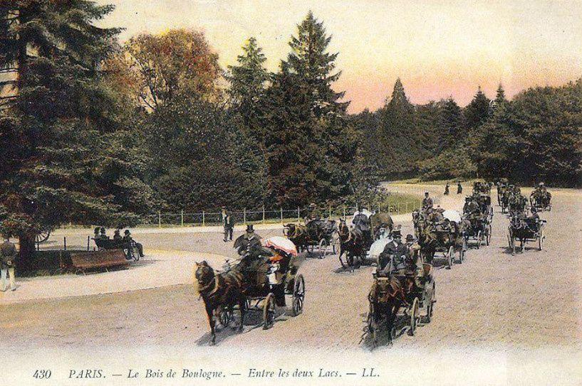 Les  écuries à Neuilly du baron Zuylen de Neyvelt de Haar