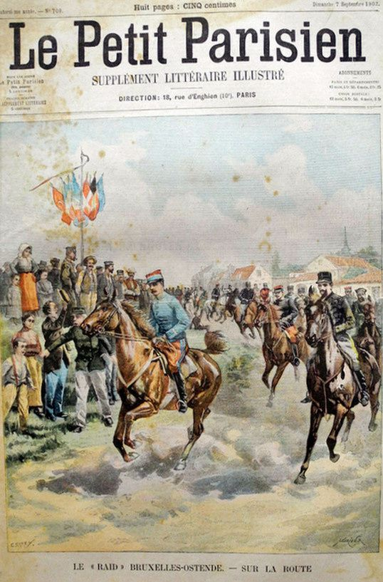 Attelages et endurance : 1903-1905