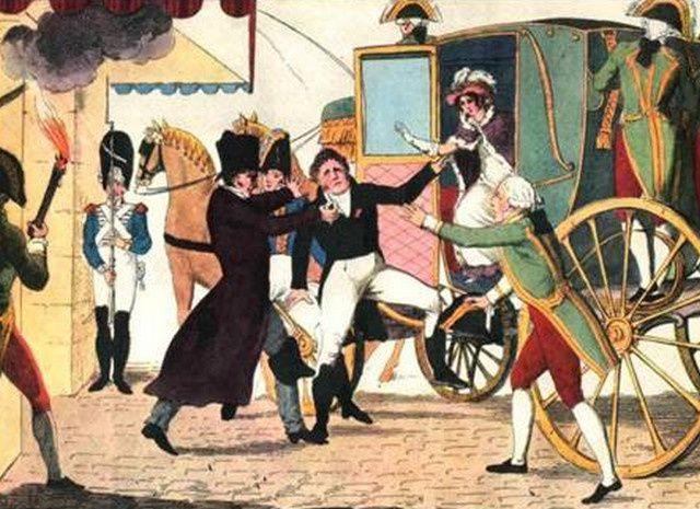 Paris, 1820. Assassinat du Duc de Berry.