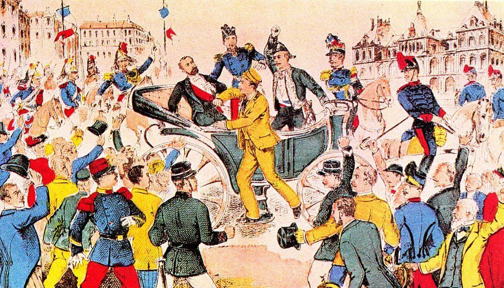 Lyon, 24 juin 1894. Assassinat du président de la République Sadi Carnot.