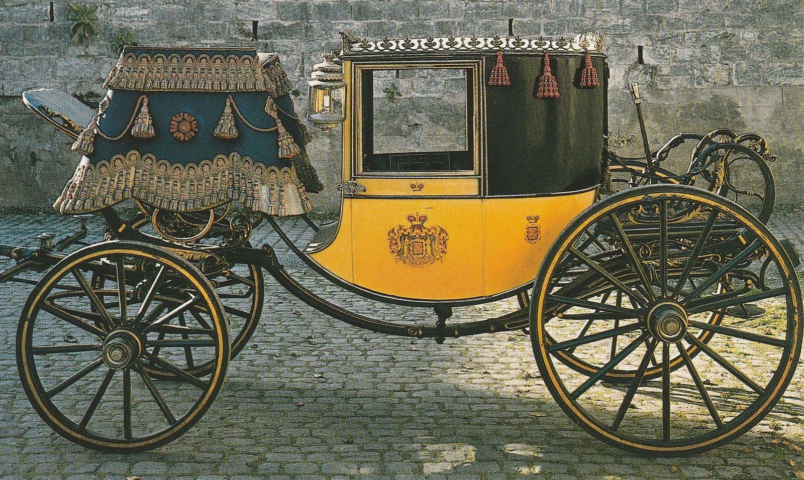 Grand coupé de gala des princes de Fürstenberg, construit à Vienne par le carrossier Lohner (Donaueschingen, Château