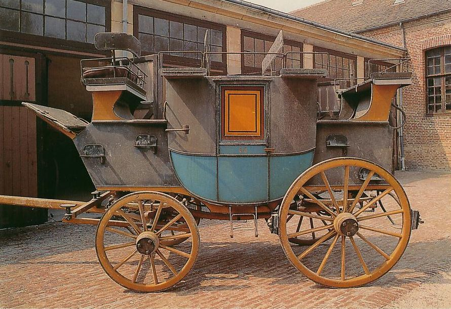 Road-coach privé, construit par Holland & Holland à Londres (Haras national du Pin)