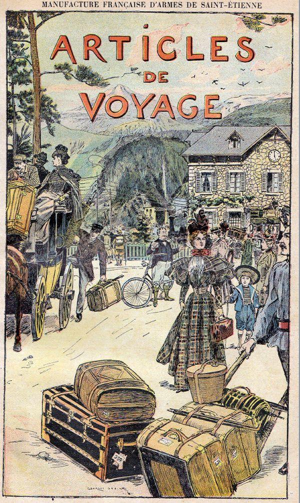 Articles de voyage en 1896