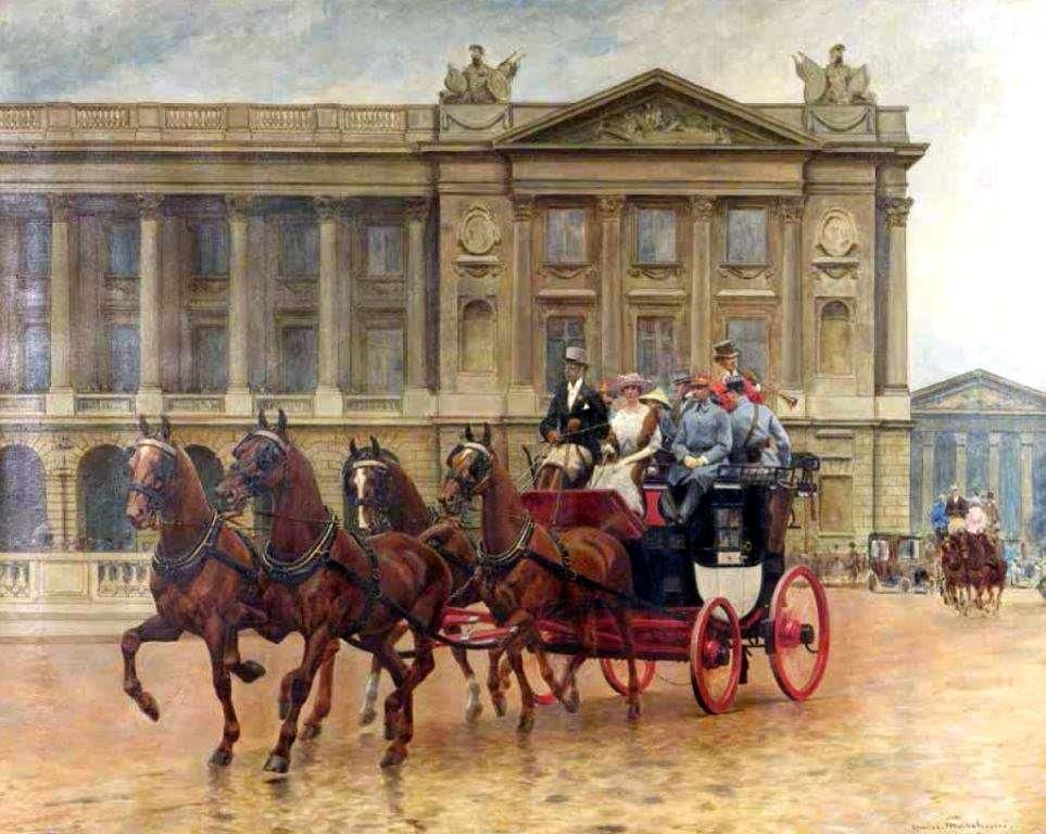Sortie en Octobre de: Kutschenbilder-Illustrated Carriage