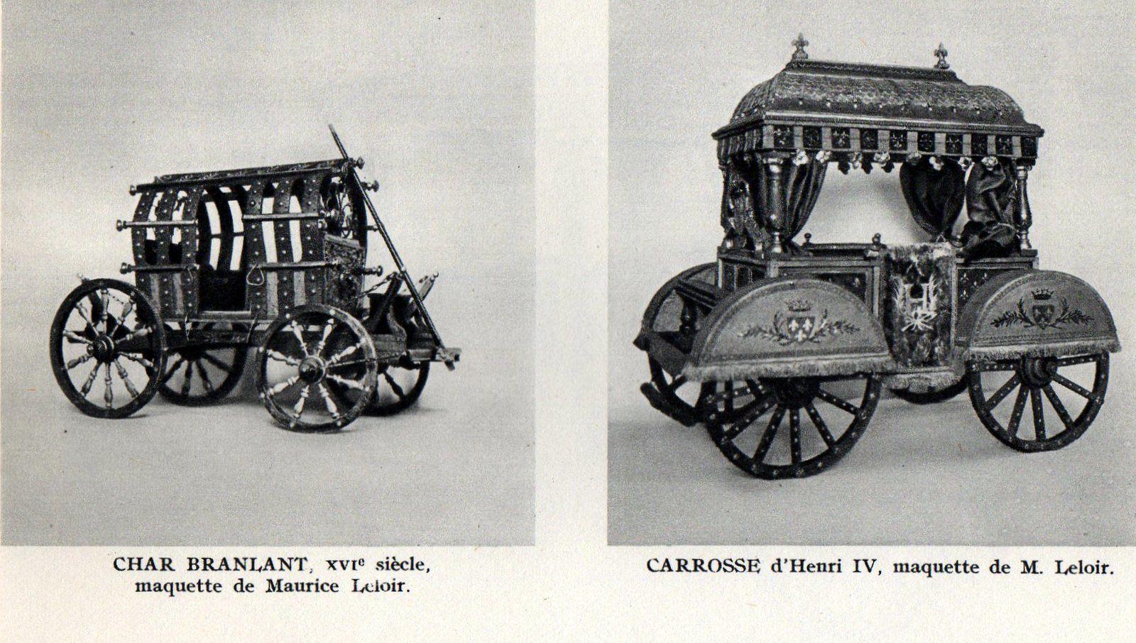 Compiègne: Musée de la voiture. Museum of carriages