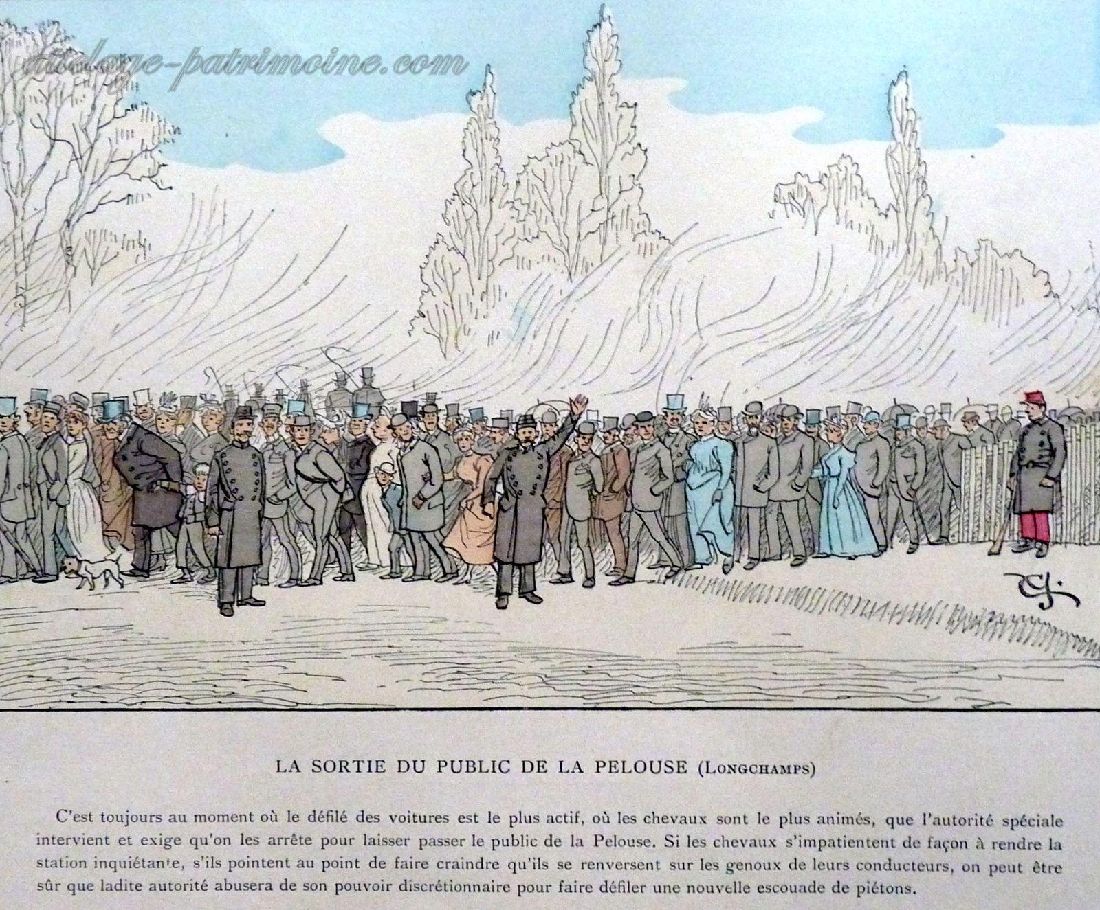 Paris dessiné par Crafty en 1894