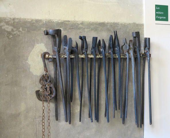 Les outils du forgeron
