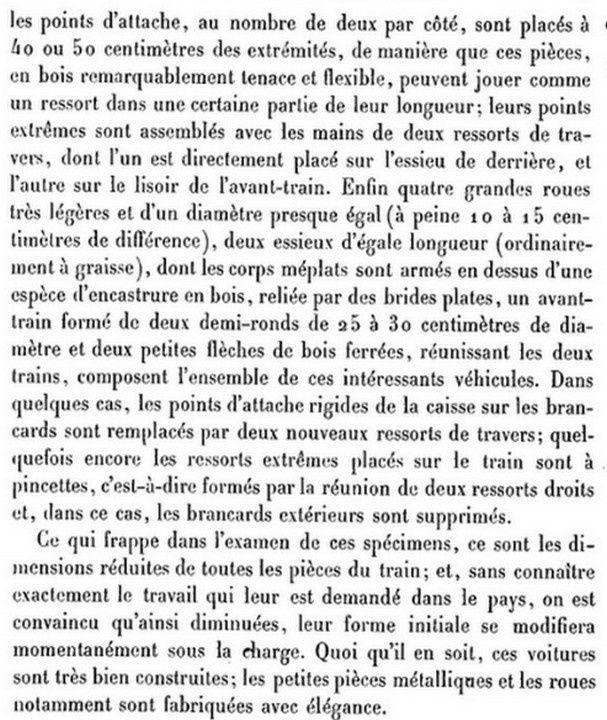 Voitures exposition 1878 3) 2 roues, voitures régionales,...
