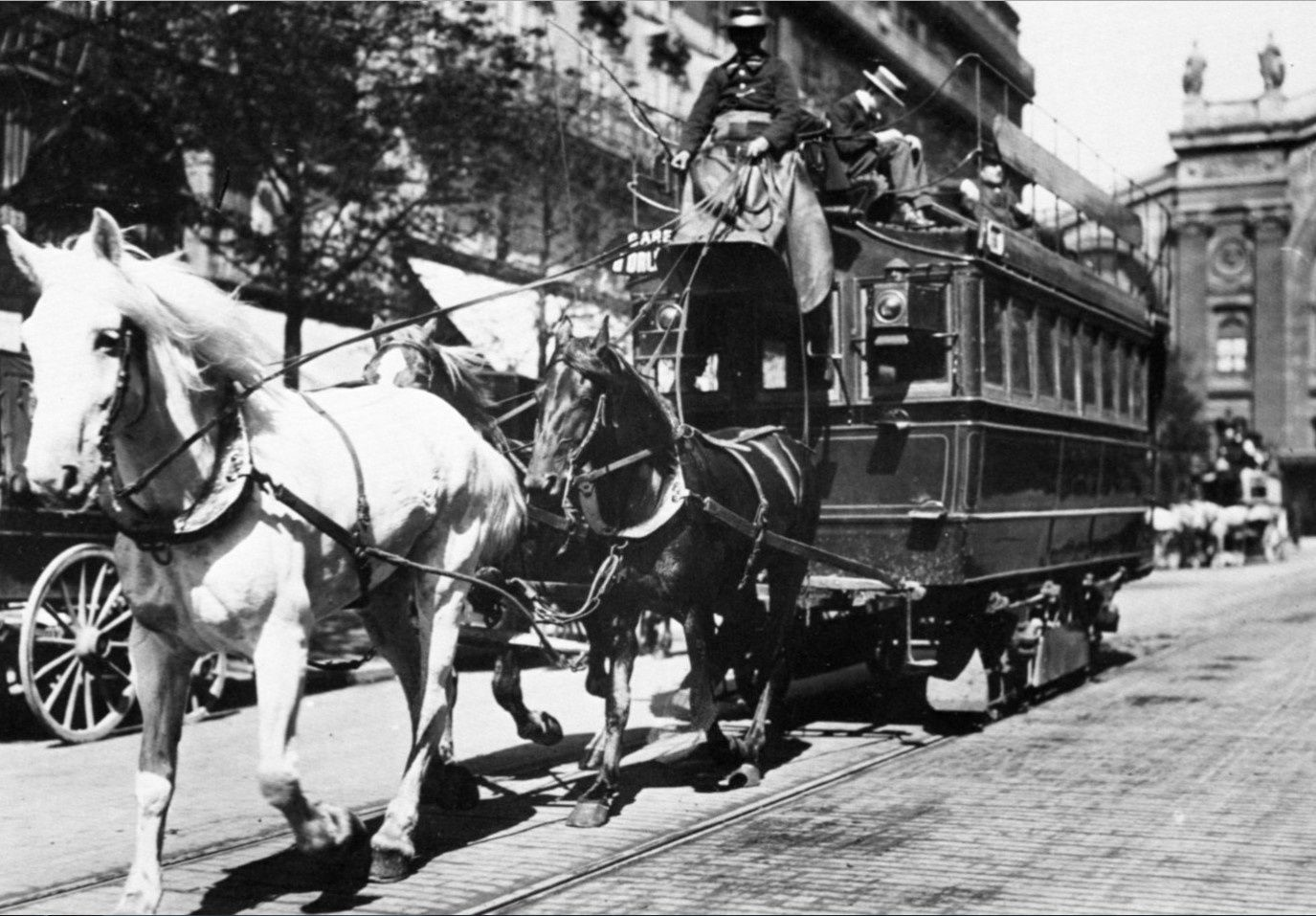 Tramway hippomobile de Marseille 1876-1899