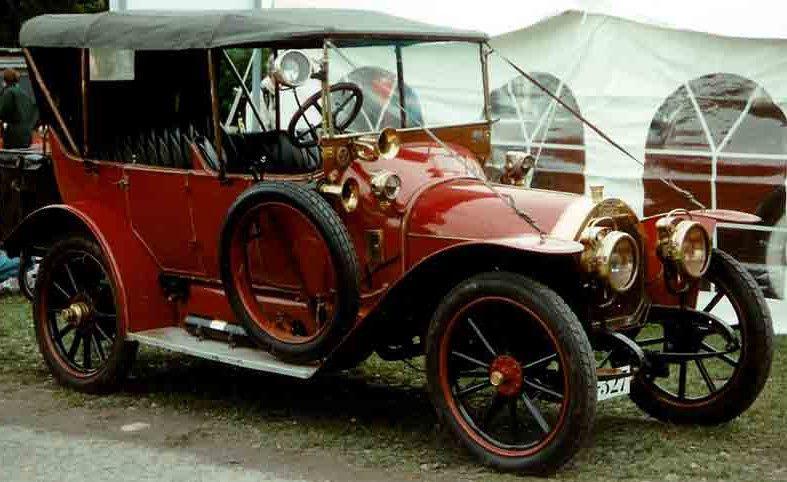 Peugeot torpedo 1910