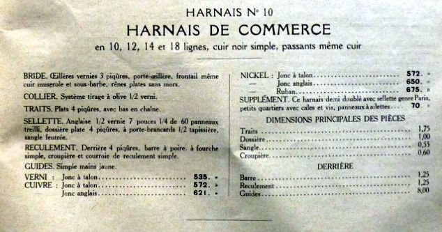 Catalogue de colliers et harnais de travail Renaud à Paris