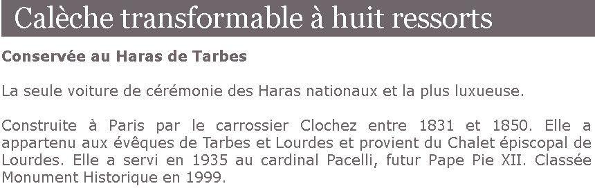 """Restauration d'une calèche """"Jacquel § Clochez Paris"""""""